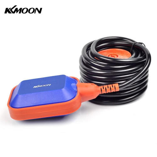 KKmoon High Quality 6m Automatic Square Float Switch Liquid Fluid Level Controller Sensor for Water Tank Tower