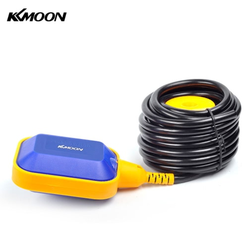 KKmoon 6m Automatic Square Float Switch Liquid Fluid Level Controller Sensor for Water Tank Tower
