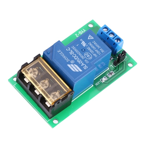 1-Channel DC 5V 30A Relay Board Module Optocoupler Isolation High/Low Trigger