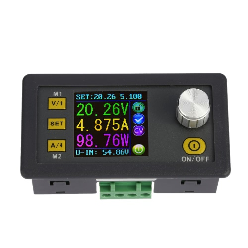 LCD Digital Programmable Constant Voltage Current Step-down Power Supply Module DC 0-50.00V/0-5.000A