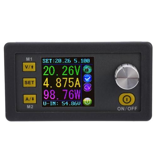 液晶デジタルプログラマブル定電圧電流ステップダウン電源モジュールDC 0-50.00V / 0-5.000A