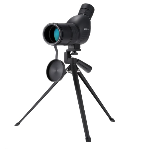 KKmoon 12-36x50(A) Zoom Spotting Scope Telescope Multi-Coated Optical Lens 45° with Tripod & Carrying Bag for Birdwatching Hunting Camping Moutaineering Naturalist