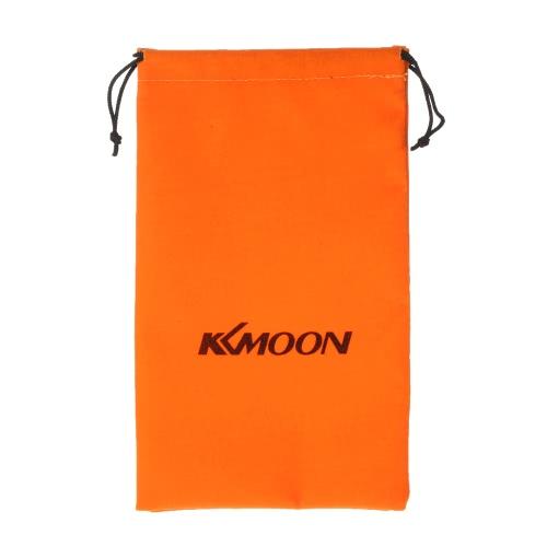 24 * 14cm Naranja Pequeño lazo de Protección reunió la bolsa del bolso