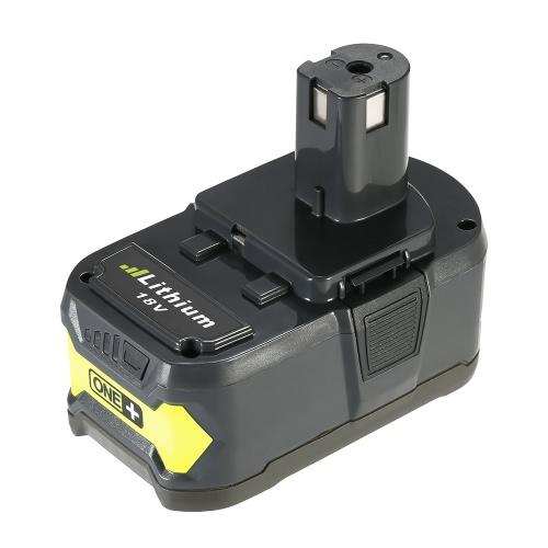 Strumenti Batteria Meterk P108 18V 4.0Ah di alimentazione ad alta capacità litio ricaricabile di ricambio batteria per Ryobi
