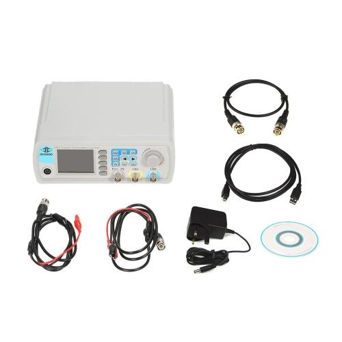 Alta precisión Digital Dual Channel DDS Generador de señal de función Generador de señal de impulso de forma arbitraria 1Hz-100MHz Medidor de frecuencia 200MSa / s 15MHz