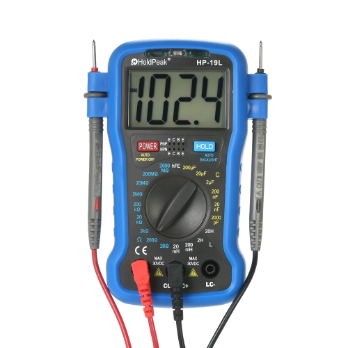 HoldPeak Backlight LCD Digital LCR Multimeter