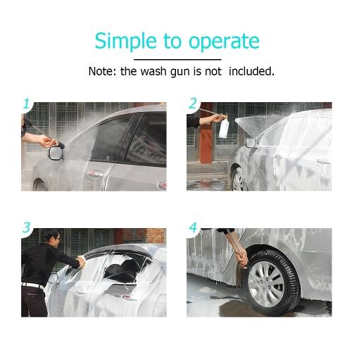 Adjustable Foam Lance 1L Bottle Snow Foam Nozzle Injector