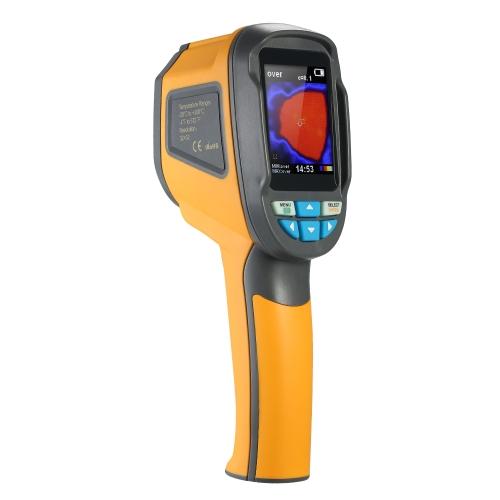-20 ~ 300 ° C / -4 ~ 572 ° F Профессиональный ЖК-цифровой бесконтактный термографический термометр тепловизора