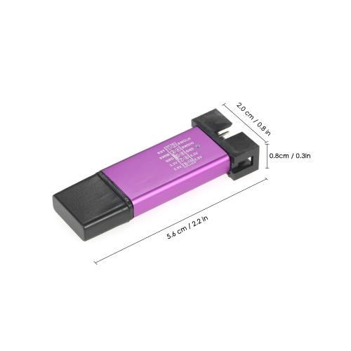 Aluminum Mini USB Emulator Downloader STM8 STM32 for ST-LINK V2