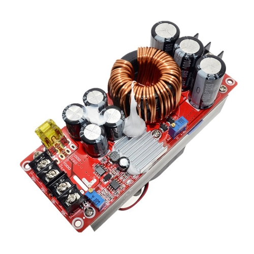 1500W 30A DC-DC High Current Módulo de fonte de alimentação DC Constant Current Boost Voltage Converter Placa do módulo de reforço elétrico