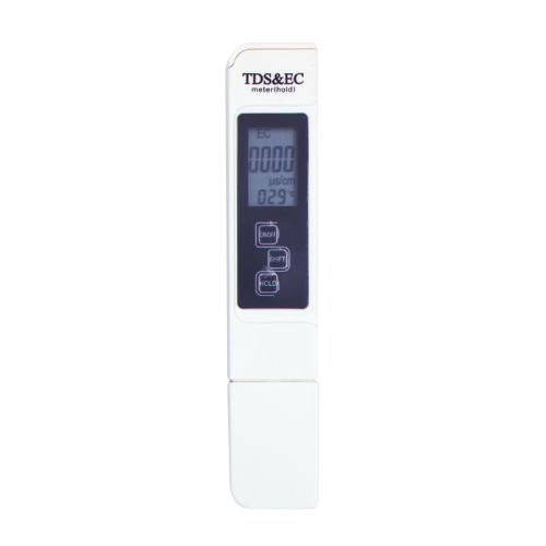 3 in 1 Tester portatile multifunzione TDS Pen Meter EC Meter Strumento di misurazione della qualità dell'acqua accurato