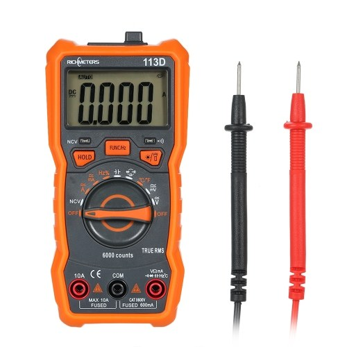 RICHMETERS RM113D NCV Digital Multimeter