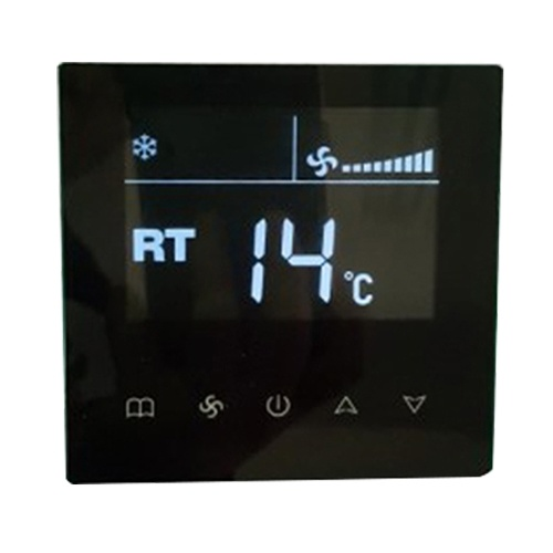 Central Air Conditioning Switch Intelligent LCD Touch Screen Control Pane Room Temperature Controller Thermostat LYK-9D-2