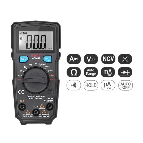 Il multimetro digitale BSIDE 1999 è dotato di un amperometro a voltmetro a protezione totale