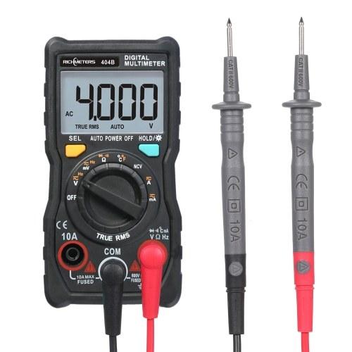 RICHMETERS Handheld Digital Multimeter RM404B Mini Multimeter