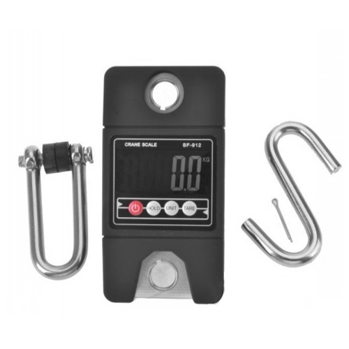 Creative Electronic Portable Hanging Mini Size 300KG Industrial Crane Handle Digital LCD Weight Hook Scale