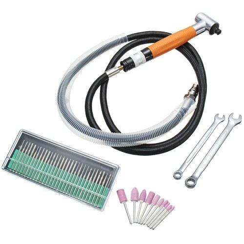 90 ° Grad 3MM pneumatischer Mikroschleifer-Winkel-Luft-Mikro-Die-Bleistift-Polierer-Werkzeug