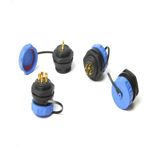 SP21 IP68防水コネクタ丸型ソケット2PIN 3PIN 4PIN 5PIN 7PIN 9PIN多重極プラグ