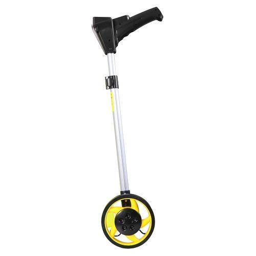 159mm Folding Distance Measuring Wheel Collapsible Digital Distance Measuring Wheel Handheld Wheel Range Finder