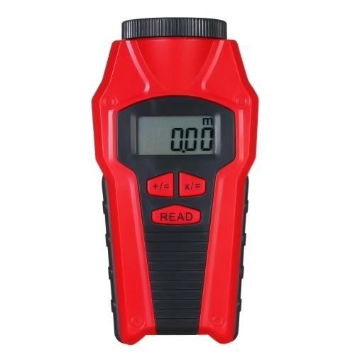 Telemetro portatile ad ultrasuoni compatto telemetro misuratore di distanza sensore di portata area di misurazione laser calcolo del volume (senza batteria)