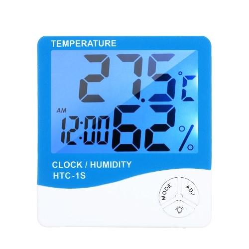ЖК-цифровой комнатный термометр гигрометр комната ℃ / ℉