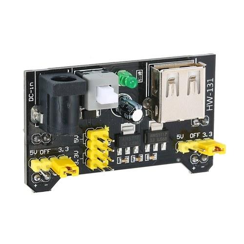 Mini Power Supply Module HW-131 Breadboard Power Module 3.3V / 5V Power Supply Module para Arduino MB102 Breadboard