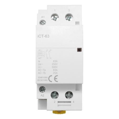 ホームACコネクタ電気220V 50 / 60Hzポーランド人コイルACモジュラーコンタクタ高感度強伝導性ICT