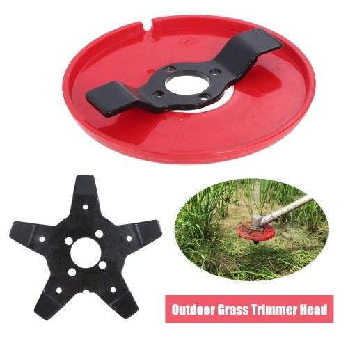 Наружные головки триммера для травы Многофункциональная машина для прополки Лезвия для газонокосилки Аксессуары для садового или сельскохозяйственного использования