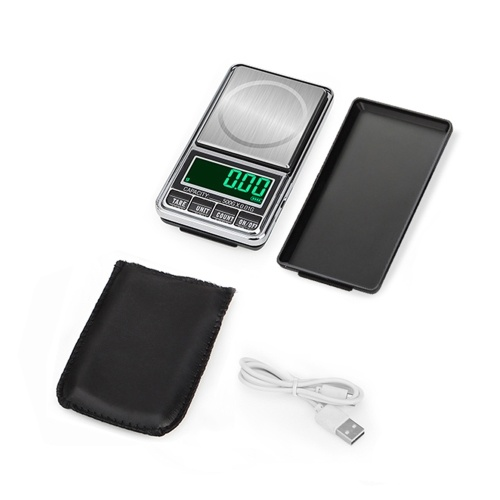 Portable Digital Scale Gold Jewelry Scale Mini Pocket Digital Scale Professional Accurate Electronic Scale Precision Balance 300g/0.01g DH-938C, TOMTOP  - buy with discount