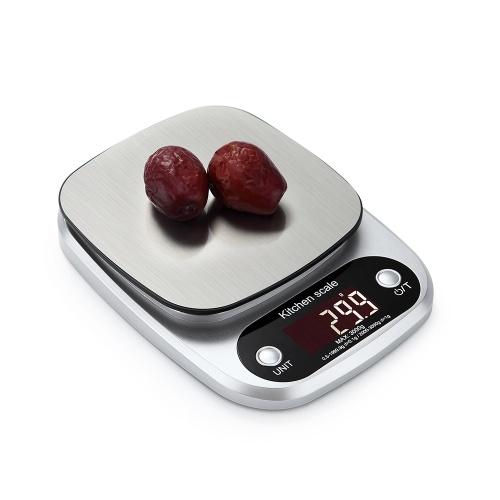 Портативные Цифровые Весы Мини Цифровые Кухонные Весы Профессиональные Точные Электронные Весы Точность Баланс 5 кг * 0.1 г DH-C305 фото