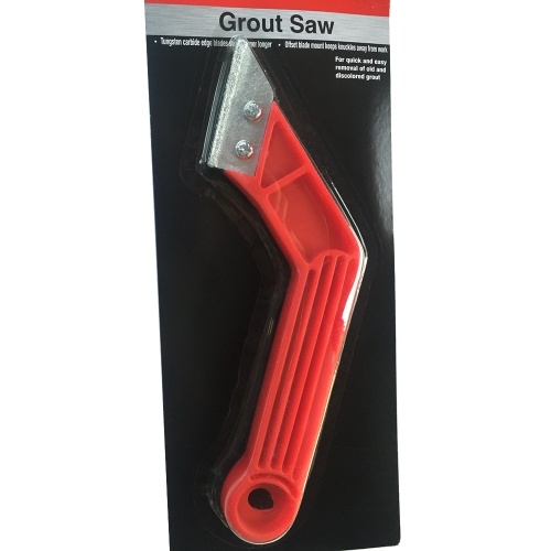 1Pc 8inch Professional Cleaning Tile Grout Saw Angled Handle Grout Blade Hand Tool