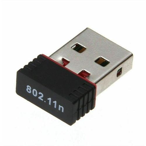 Mini USB WiFi WLAN Adaptador de rede sem fio Realtek 150Mbps Windows 802.11n / g / b