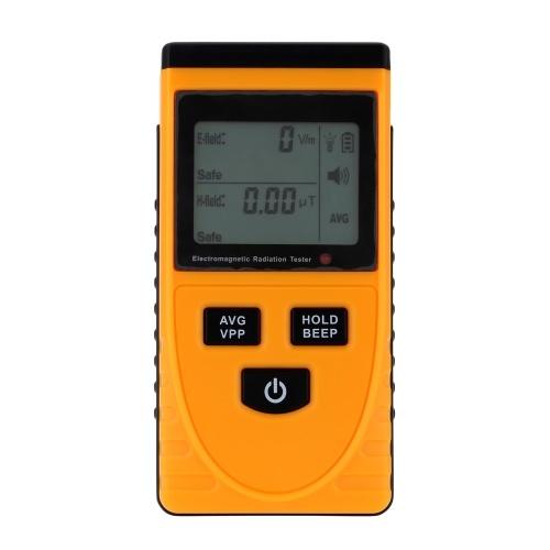 Détecteur de rayonnement électromagnétique LCD numérique
