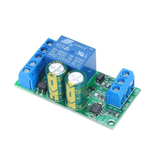 LC25A01 Water Level Automatic Controller Module Aquarium Fish Tank Liquid Level Controller Sensor Indicator Switch Circuit Board for Home Auto Feeder Waterer 110V/220V/12V DC/9V-12V AC Solenoid Valve Water Pump Motor