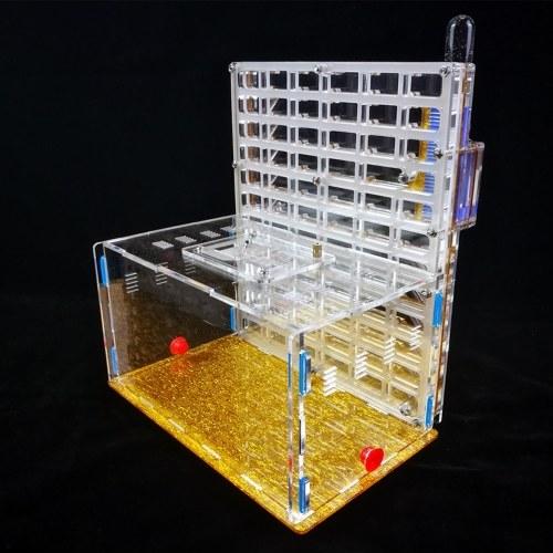 DIY Antgranery Moisture Feeding Area Acryl Ant Farm Ants House Birthday   Present Gift