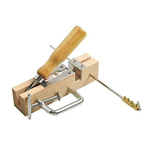 Hole Puncher Wooden Stopper Borer Frame Hole Drilling Device Hole Punch for Nest Frame Beekeeping Puncher