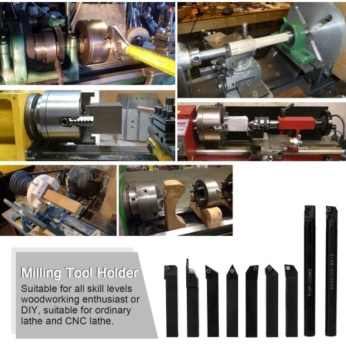 High Hardness Milling Tool Holder Quick Cutting Efficiency Lathe Arbor with Insert and Wrench