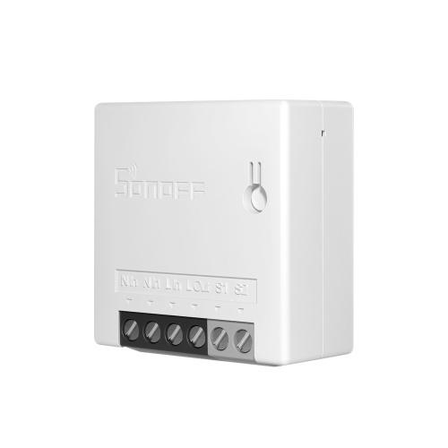 eWelink WifiMINIR2インテリジェント双方向スイッチMiniWifi HomeSwcithワイヤレスリモートコントロールスイッチAmazonAlexaおよびGoogleアシスタントと互換性があります