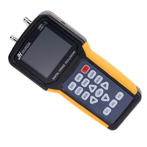Handheld Digital TFT LCD Dual-channel 2 Channels Oscilloscope Portable Scope Meter 20MHz Bandwidth 200MSa/s Sample Rate