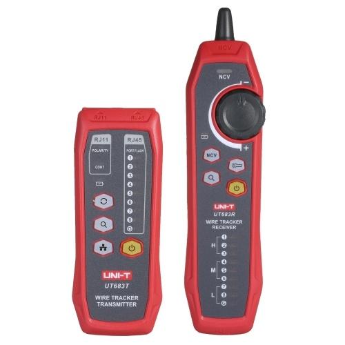 UNI-T UT683KIT Buscador de líneas de red Rastreador de cables Rastreador de señales