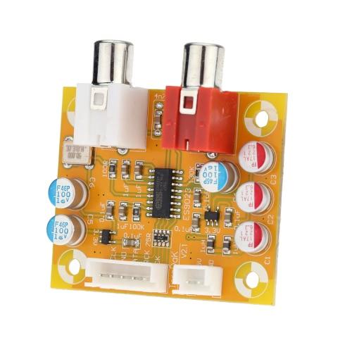 DAC Sabre ES9023 analógico I2S 24bit 192kHz decodificador placa modo conversão