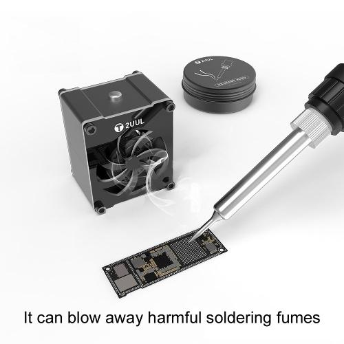 Mini Cooling Fan USB Soldering Fume Fan for Mobilephone Motherboard Welding Repairing Device