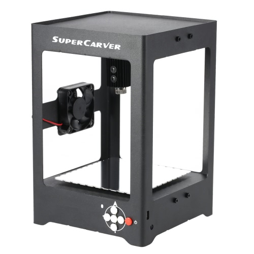 SUPERCARVER K2 1000mW High Speed Миниатюрный лазерный гравировальный станок для печати гравер Carver Автоматическая DIY Carving автономная работа с Защитные очки