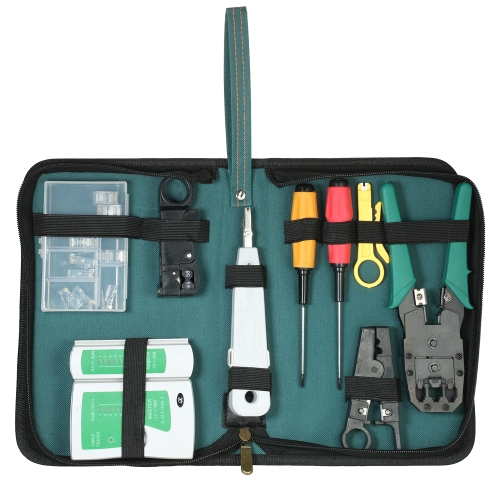 9-em-1 Professional Network Computer Maintenance Repair Tools Kit