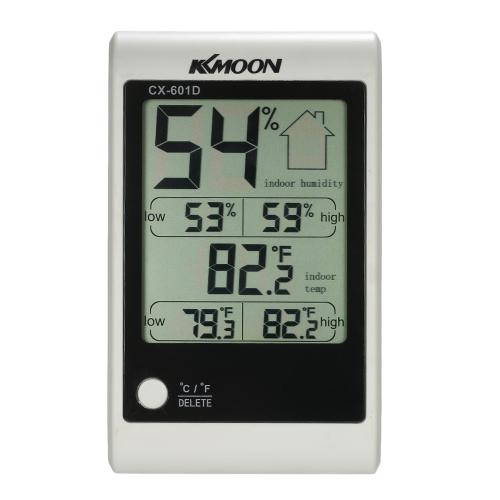 KKムーンLCD℃/℉デジタル温度計湿度計温度湿度計
