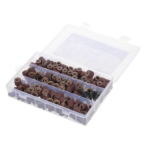 Accesorios para herramientas rotativas 338pcs Set Lijado accesorio para pulir Kit para pulir con caja de almacenamiento para Dremel Grinder