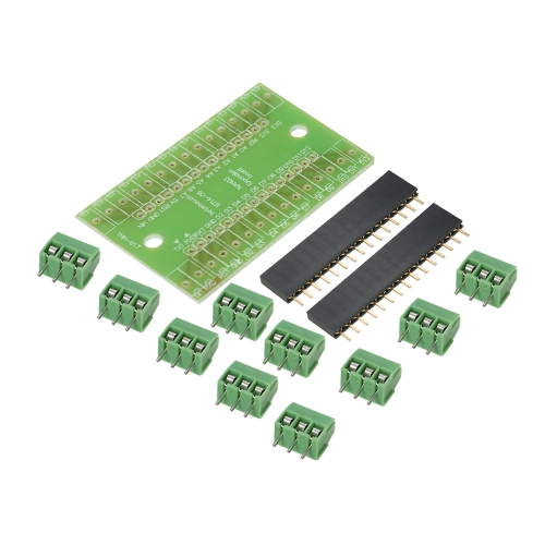 5pcs vis terminal NANO IO Shield V1.O adaptateur carte d'extension Module Shield Kit pour Arduino