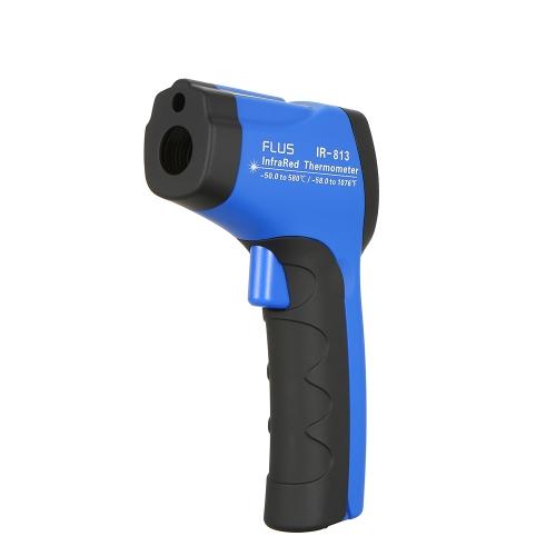 非接触デジタルレーザー赤外線工業用温度計ポータブルパイロメータLCD温度計工業用ガンポイント診断測定ツール温度測定