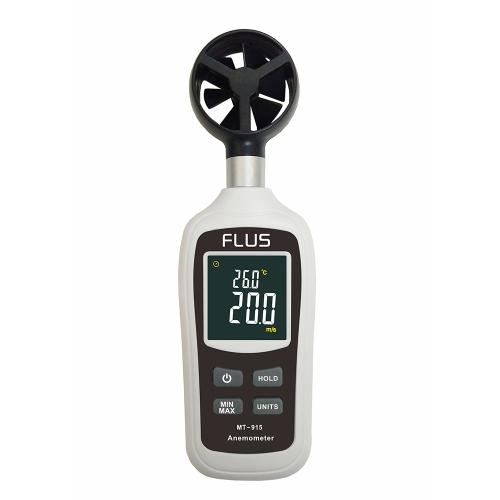 Termômetro Anemômetro Digital Medidor de velocidade do vento de bolso Termômetros de temperatura Medidores de diagnóstico Ferramentas de diagnóstico Tacômetro LCD Medição da velocidade do ar do motor