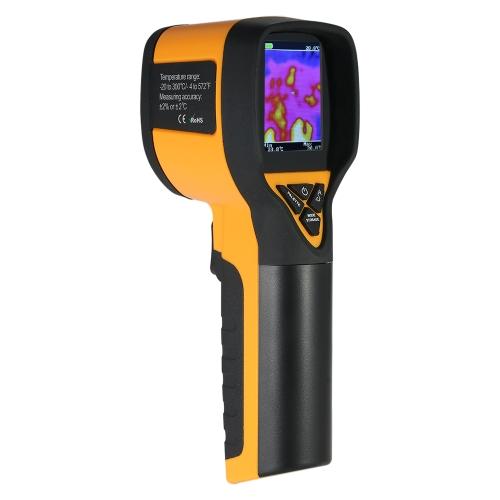 -20 ~ 300 ° C / -4 ~ 572 ° F Profissional Mini LCD Digital Handheld Thermal Imaging Camera Termômetro infravermelho